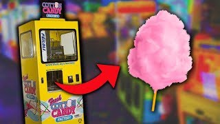 Download I FOUND A COTTON CANDY VENDING MACHINE!! Video