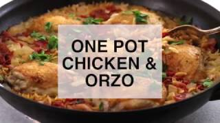 Download One Pot Chicken and Orzo Video