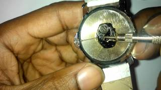 Download WRISTWATCH REPAIR: How to remove and replace winder, stem and crown from a watch Video