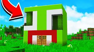 Download HOW TO MAKE AN UNSPEAKABLE HOUSE IN MINECRAFT! Video