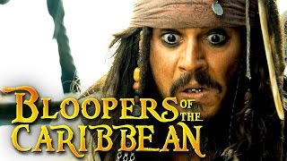 Download Bloopers Of The Caribbean: Dead Men Tell No Gags Video