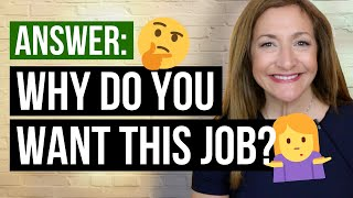 Download How To Answer ″Why Do You Want This Job?″ Video
