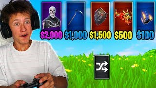 Download RANDOM RARE OUTFIT *MONEY* CHALLENGE in Fortnite Battle Royale Video