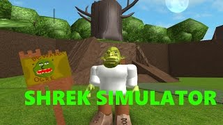 Roblox Shrek Simulator And Music What Are You Doing In My Swamp