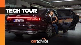 Download Tech review: 2019 Audi A8 Video
