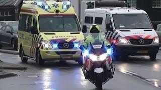 Download Politie VTB training - spoedtransport Ambulance 15-105 + VIP Video