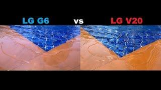 Download LG G6 vs LG V20 CAMERA TEST Video