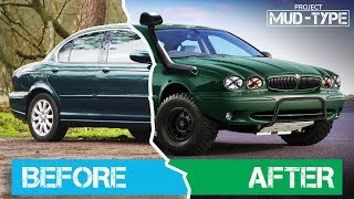 Download How Bad Is An AWD Jaguar X-Type Off Road + Build Plan Video