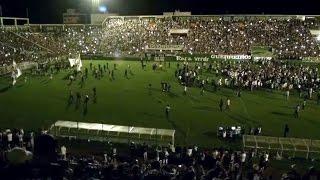 Download Vigil for Chapecoense Soccer Team in Chapeco, Brazil. Nov. 30. 2016. Video