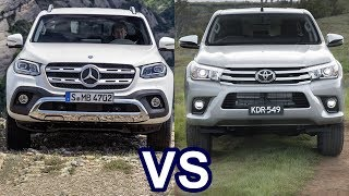 Download 2018 Mercedes X-Class Vs 2018 Toyota Hilux Video