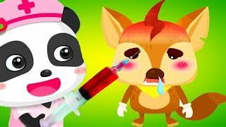 Download gấu trúc Panda làm bác sĩ khám bệnh cu lỳ chơi game Doctor Little Panda's Hospital Video