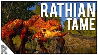 Download Rathian Monster Tame! - Ark Survival Evolved PVE #4 Video