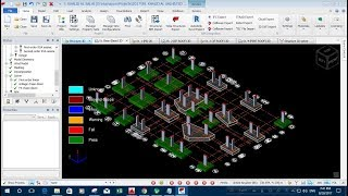 Staircase Tower 2D Creation in Tekla Structures Free Download Video