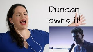 Download Reaction to Duncan, winner Eurovision 2019, by an opera singer Video