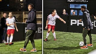 Download PLAYING 5-A-SIDE AGAINST MICHY BATSHUAYI! | Sunday League Messi Extra Time Video