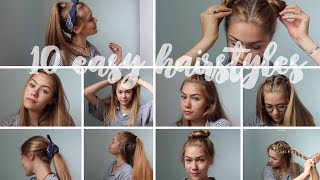 Download 10 Easy Heatless Hairstyles for Medium to Long Hair!!! Video