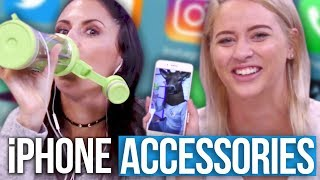 Download 5 Weird AF iPhone Accessories From Amazon?! (Beauty Break) Video