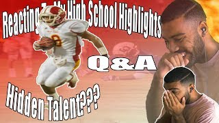 Download Reacting My High School Highlights!!! [Reaction] Q&A Video