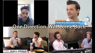 Download One Direction Saying They'll Come Back Video