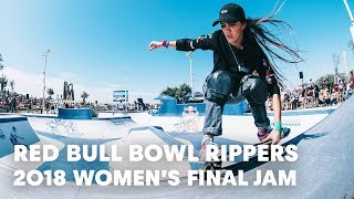 Download Women's Final Skate Jam Session at Red Bull Bowl Rippers 2018 Video