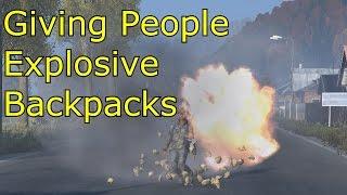 Download DayZ - Giving People Explosive Backpacks Video