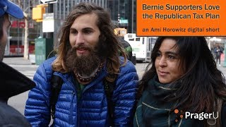 Download Bernie Supporters Love the Republican Tax Plan Video