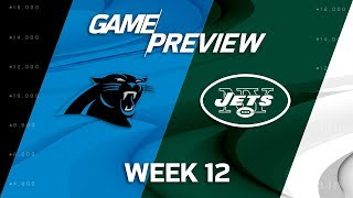 Download Carolina Panthers vs. New York Jets | NFL Week 12 Game Preview Video