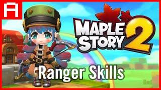 Download Ayumilove MapleStory2 Ranger Skills (2016) Video