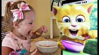 Download Funny Stacy play Talking Cat Game Video
