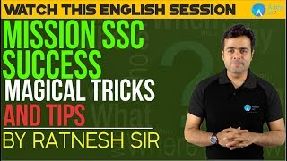 Download Mission SSC SUCCESS | Watch This English Class | Magical Tricks And Tips | Ratnesh Sir Video