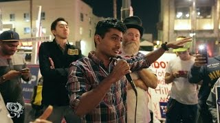 Download Indian/Black/White/Hispanic Trump Supporters vs. Black Clinton Supporter Hollywood Blvd. Video