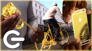 Download Goldgenie Will Gold Plate ANYTHING - The Gadget Show Video