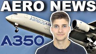 Download LÄNGSTER FLUG der Welt - im A350 ULR! AeroNews Video
