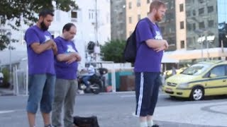 Download Praying on the Street, Brazil World Cup Day 23 Video