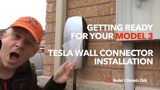 Download Tesla Wall Connector Install | Model 3 Owners Club Video