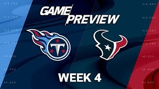 Download Tennessee Titans vs. Houston Texans | Week 4 Game Preview | Move the Sticks Video
