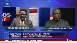 Download Ologbondiyan Says PDP Is Enjoying A Bountiful Harvest, Lai Responds |Politics Today| Video