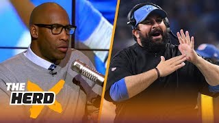 Download Bucky Brooks talks Matt Patricia's struggles with Lions, Aaron Rodgers injury prone | NFL | THE HERD Video