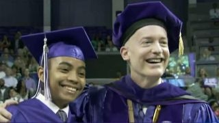 Download 14-year-old graduates college with a physics degree Video