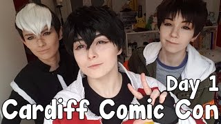 Download [ VLOG ] Cardiff Film & Comic Con - Day 1 (March 2017) Video