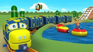 Download Toy Factory Cartoon - Train for Kids - Tomas Cartoon - поезда для детей видео - Train Cartoons Video