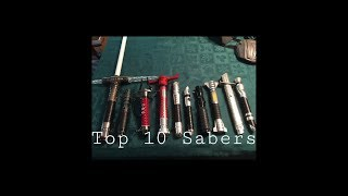 Download My top 10 sabers Video