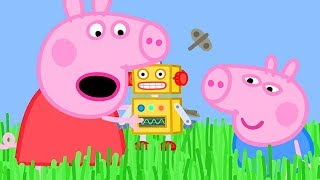 Download Peppa Pig Official Channel ❤️New Season ❤️ Long Grass is Stopping Peppa Pig's Robot from Walking Video