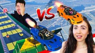 Download ULTIMATE ″BOYFRIEND vs GIRLFRIEND″ GTA 5 RACES!! Video