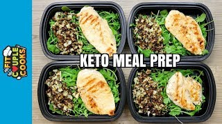 Download How To Meal Prep - Ep. 72 - KETO CHICKEN (4 Meals/$3 Each) - KETO MEAL PREP Video