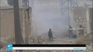 Download مشاهد من المعارك في الأحياء الشرقية لمدينة حلب Video