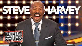 Download Funniest Steve Harvey Questions & Answers On Family Feud | Bonus Round Video