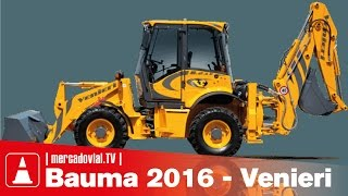 Download RETROEXCAVADORAS Articuladas VENIERI 8.23E - Origen ITALIA - Bauma 2016 Video