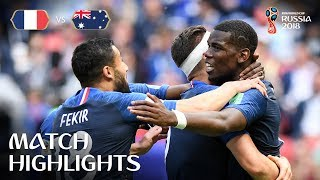 Download France v Australia - 2018 FIFA World Cup Russia™ - MATCH 5 Video