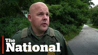 Download Guarding Canada-US illegal border crossings Video